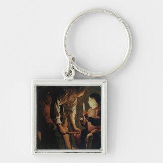 St. Joseph, the Carpenter Keychain