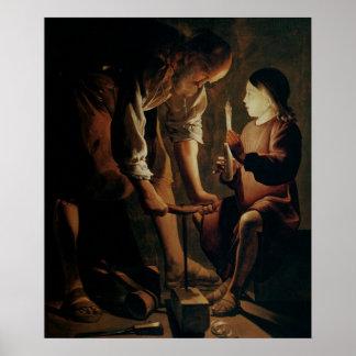 St. Joseph, the Carpenter Poster