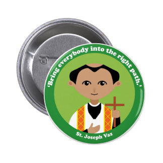 St. Joseph Vaz Button