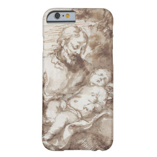St. Joseph with the Sleeping Christ Child (pen & b Barely There iPhone 6 Case