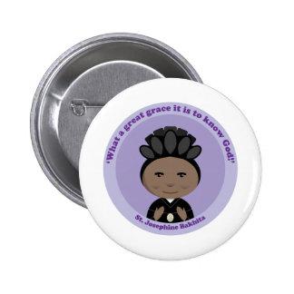 St. Josephine Bakhita Button