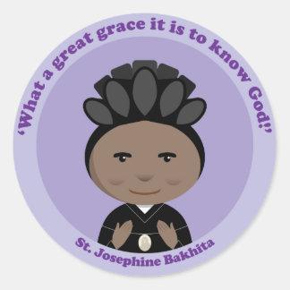 St. Josephine Bakhita Classic Round Sticker