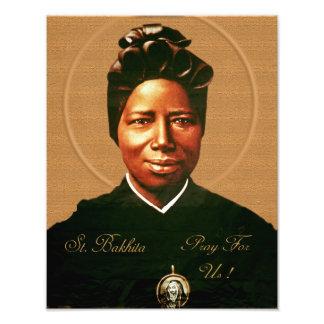 St. Josephine Bakhita. Cojinete