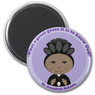 St. Josephine Bakhita 2 Inch Round Magnet