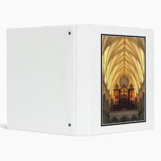 St. Joseph's Cathedral - Choir Loft / Organ Pipes 3 Ring Binder