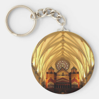 St. Joseph's Cathedral - Choir Loft / Organ Pipes Keychain