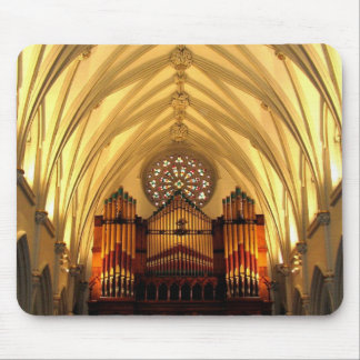 St. Joseph's Cathedral - Choir Loft / Organ Pipes Mouse Pad