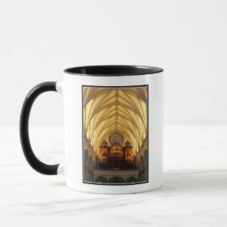 St. Joseph's Cathedral - Choir Loft / Organ Pipes Mug