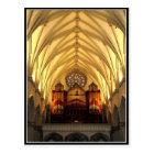 St. Joseph's Cathedral - Choir Loft / Organ Pipes Postcard