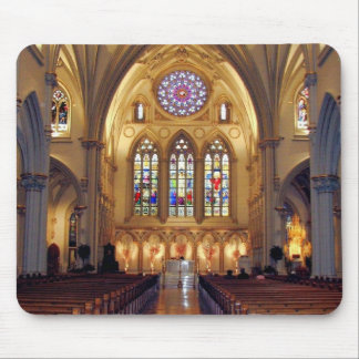 St. Joseph's Cathedral - Main Aisle/Front Mouse Pad
