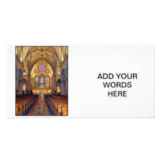 St. Joseph's Cathedral - Main Aisle/Front Picture Card