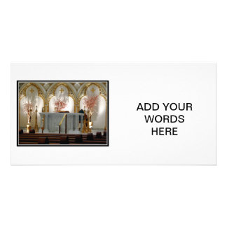 St. Joseph's Cathedral - Main Altar Card