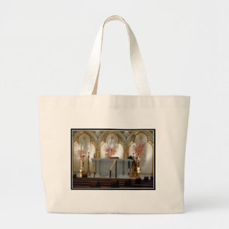 St. Joseph's Cathedral - Main Altar Large Tote Bag