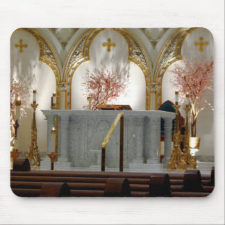 St. Joseph's Cathedral - Main Altar Mouse Pad