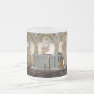 St. Joseph's Cathedral - Main Altar 10 Oz Frosted Glass Coffee Mug