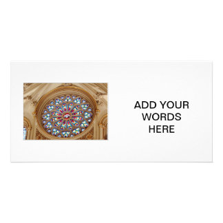 St. Joseph's Cathedral - Stained Glass Window Card
