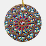 St. Joseph's Cathedral - Stained Glass Window Christmas Tree Ornament