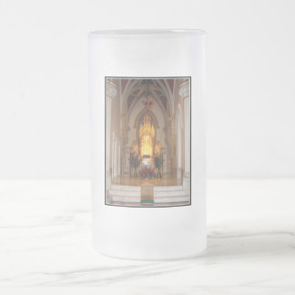 St. Joseph's Cathedral Tabernacle Frosted Glass Beer Mug