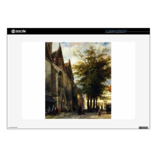 """St. Josephs Church in Hamelen by Cornelis Springer 15"""" Laptop Skin"""