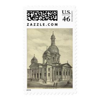 St Joseph's Church Stamps