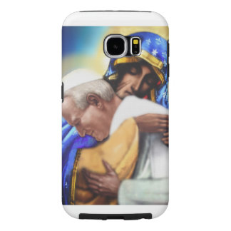 ST JPII AND MARY, MOTHER OF GOD... SAMSUNG GALAXY S6 CASE