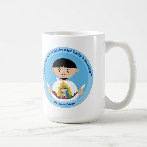 St. Juan Diego Classic White Coffee Mug