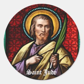 St Jude 4 Pegatina Redonda
