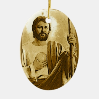 St. Jude Christmas Ornament