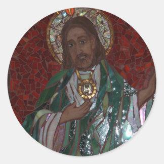 St. Jude Pegatina Redonda