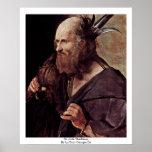 St. Jude Thaddeus, By La Tour Georges De Posters