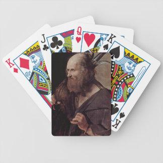 St. Jude Thaddeus de Jorte de la Tour- Baraja Cartas De Poker