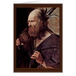 St. Jude Thaddeus, por el viaje Jorte De del La Tarjeta De Felicitación