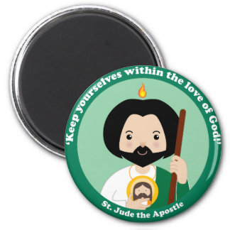 St. Jude the Apostle 2 Inch Round Magnet