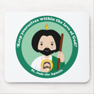 St. Jude the Apostle Mouse Pad