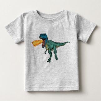 St Judeasaurus Rex by Steve Miller Baby T-Shirt