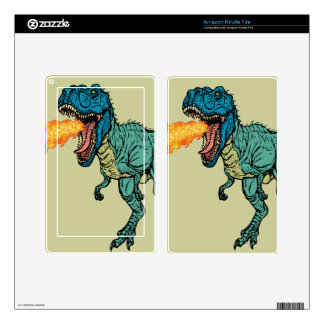 St Judeasaurus Rex by Steve Miller Decal For Kindle Fire