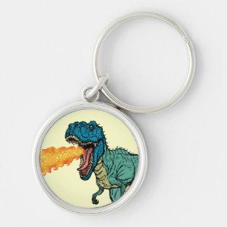 St Judeasaurus Rex by Steve Miller Keychain