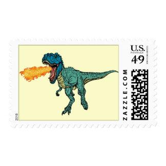 St Judeasaurus Rex by Steve Miller Postage Stamp