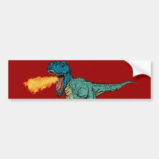 St Judeasaurus Rex de Steve Miller Pegatina Para Auto