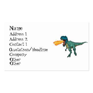 St Judeasaurus Rex de Steve Miller Tarjetas De Visita