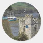 St Just Cornwall Classic Round Sticker