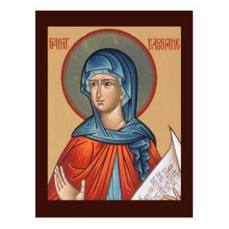St. Kassiane la tarjeta del rezo de Hymnographer Tarjetas Postales