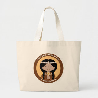 St Kateri Tekakwitha Canvas Bag
