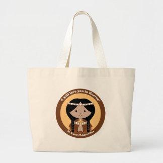 St. Kateri Tekakwitha Bolsa Tela Grande
