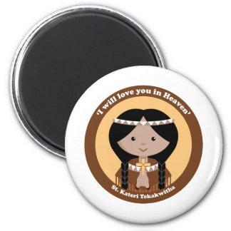 St. Kateri Tekakwitha Fridge Magnets