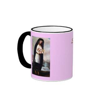 St. Kateri* Tekawith Ringer Coffee Mug