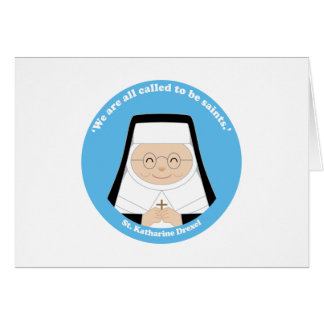 St. Katharine Drexel Card