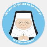 St. Katharine Drexel Classic Round Sticker