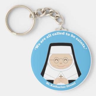 St. Katharine Drexel Keychains