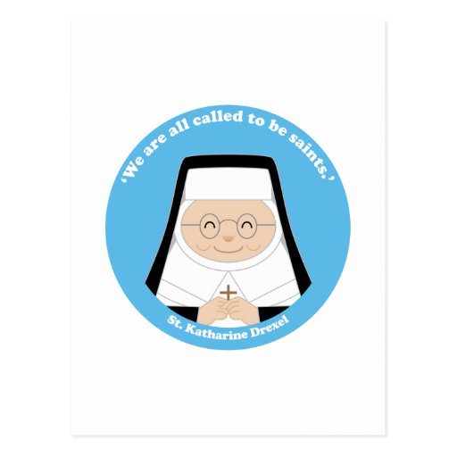 St. Katharine Drexel Postales